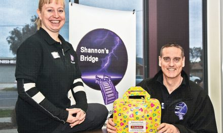 Shannon's story helping to 'Bridge' palliative care gap