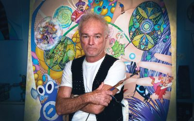 'Peter Pan Punk' marks Walter's artistic comeback