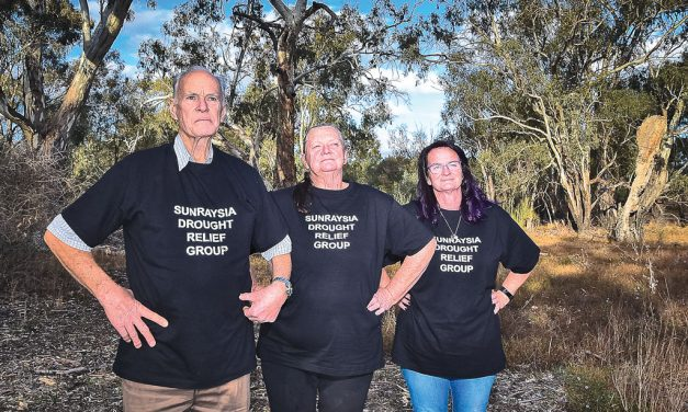 HELP AT HAND – Locals come together to help those doing it tough in the bush