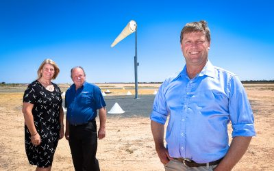 FLIGHT CENTRE – $9.1m funding injection for Wentworth Aerodrome upgrade