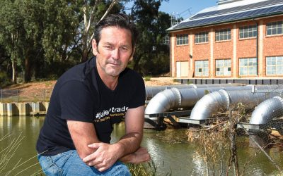 Jason takes his Mallee campaign on the road