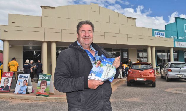 Libs' Mallee candidate number one on the ballot