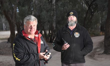 Communication is key for safety at Hattah Desert Race
