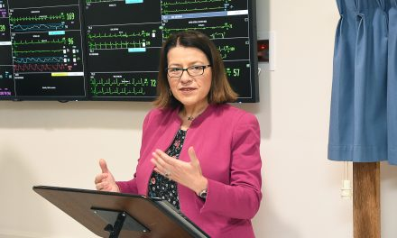 I'M ALL EARS … promises Health Minister during Base briefing