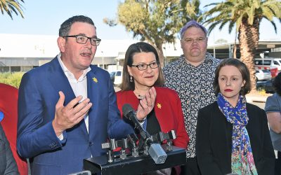 A PREMIER'S PROMISE –Daniel Andrews vows to consider MSRSP funding