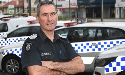 ON THE BEAT – Police life offers 'a little something more' for Kaare