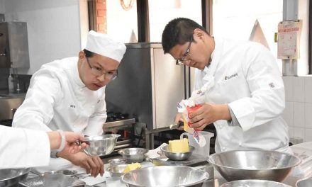 Chinese teachers here to learn our culinary skills