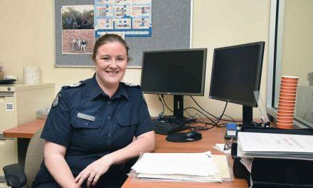 Life on the beat proves an ideal occupation for Breigh