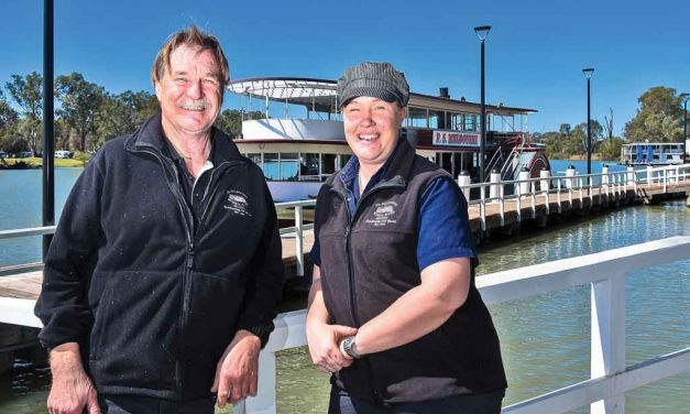 Meet the father-daughter team making waves on the Murray