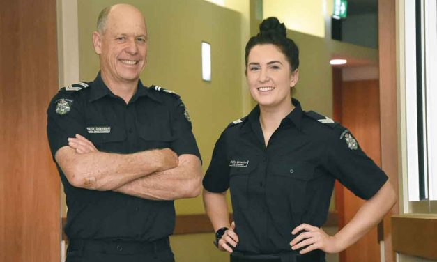 Policing a family affair for Gavin and Kelly
