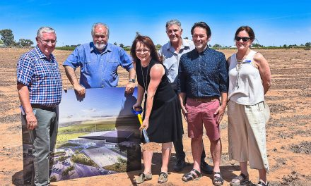 FIRST SOD TURNED – Council aims to have new MSRSP operational in 18 months