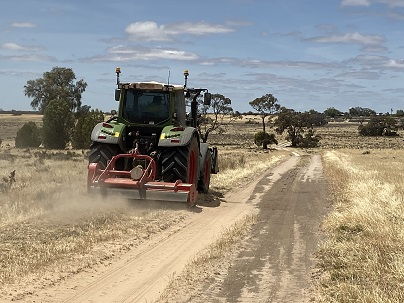 Planned spring burns conclude in the Mallee