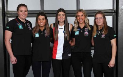 ALL HAIL SAINT HANNAH! Former Sunraysia netballer drafted into AFLW after just two years of playing football
