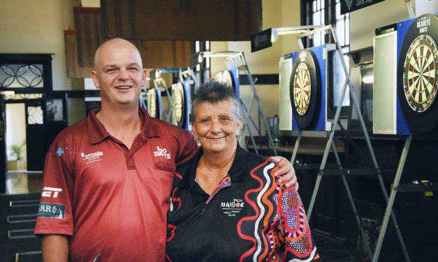 Kyle to hit a bullseye with local darts players at 2020 event