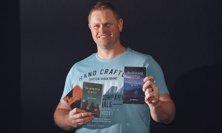 After 14 years, Jacob completes self-published fantasy trilogy!