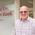 Mal makes record-breaking 200th blood donation