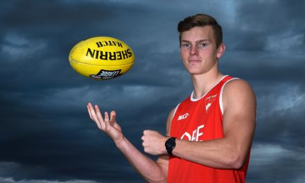 ROWLES ROYCE: Swans rookie is ready and waiting
