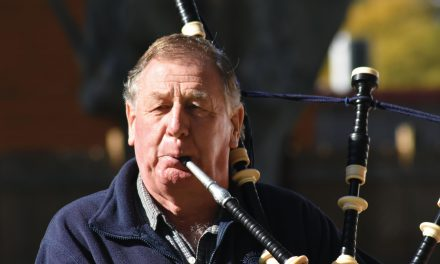 Local pipers are back making music