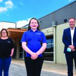 Matilda crafts winning look at airport cafe