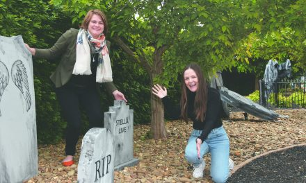 Ghoulish garden opens at Macca's Irymple
