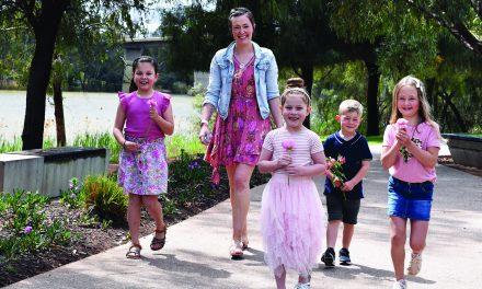 Fresh air, dress ups to raise cancer funds