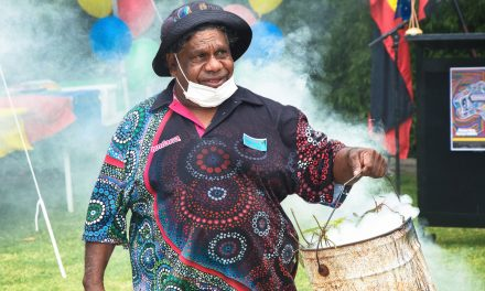 Hospital's first public event: NAIDOC Week 2020