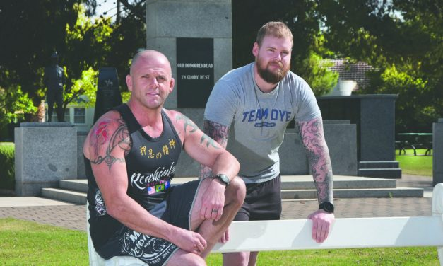MATES TAKE BATTLE TO HOME FRONT