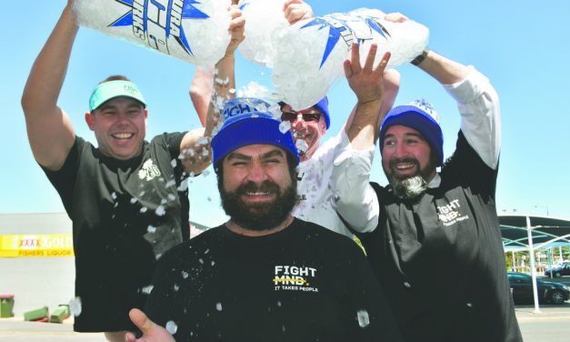 ERIC'S MATES WANT TO BEAT MND BEAST