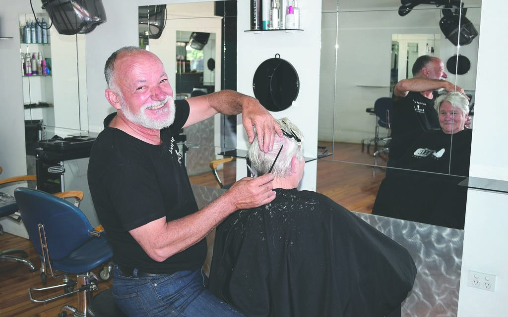 Click go the years for iconic Mildura hairdresser