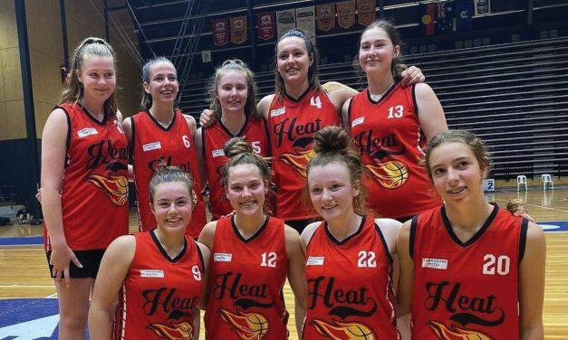 Heat runners up at Country Basketball Championships