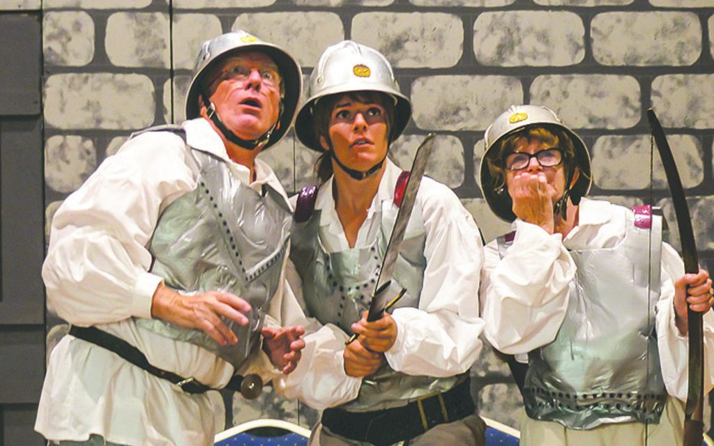Red Cliffs Players ready to go