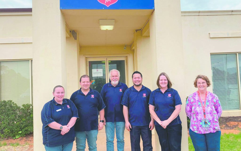 Fresh faces settling in at Salvation Army