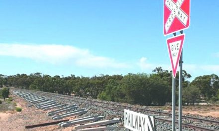 Rail upgrade works under sleeper cloud