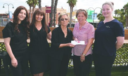 Family donation received with heart-felt thanks