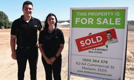 Merbein building block sales are booming