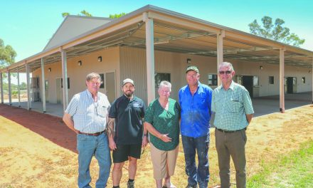 New pavilion for Wentworth Showgrounds