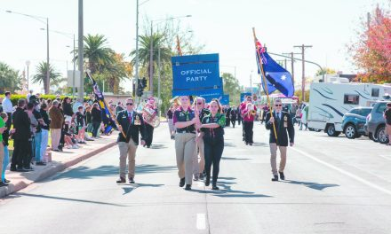 Big crowd shows for ANZAC march