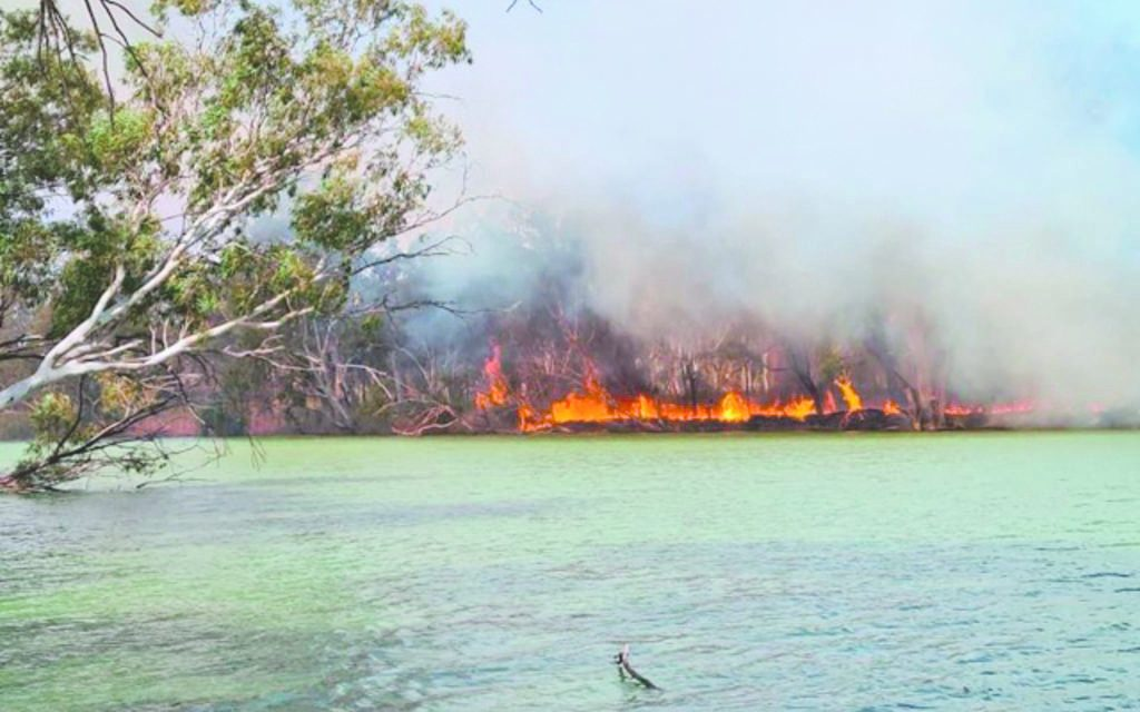 Cause of Junction Island blaze remains a mystery