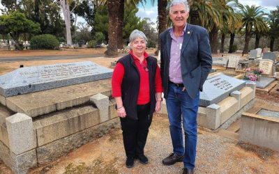 Call goes out to preserve Chaffey graves