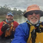 Veterans paddle the Murray for homeless comrades