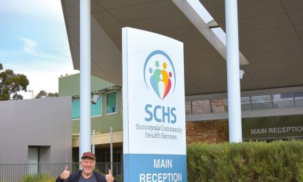Ron gives SCHS vaccine program a big thumbs up