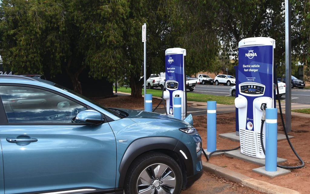 State unveils electric car charging drive